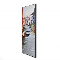 Framed 16 x 48 - 3D - Venetian landscape