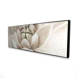 Framed 16 x 48 - 3D - Delicate chrysanthemum