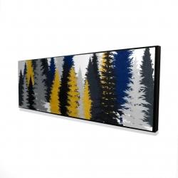 Framed 16 x 48 - 3D - Golden fir