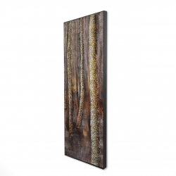 Framed 16 x 48 - 3D - The dark forest