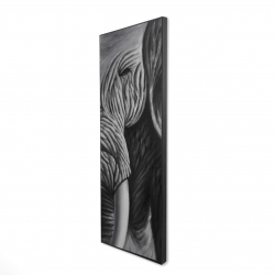 Framed 16 x 48 - 3D - Elephant