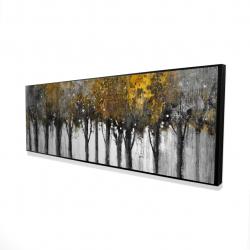 Framed 16 x 48 - 3D - Illuminated forest