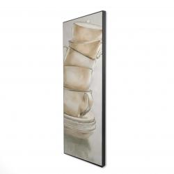 Framed 16 x 48 - 3D - Coffee mugs