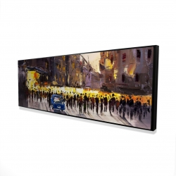 Framed 16 x 48 - 3D - Ready for the show