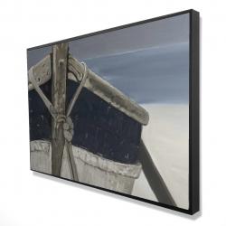Framed 24 x 36 - 3D - Bateau