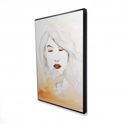 Framed 24 x 36 - 3D - Portrait in watercolor
