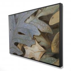 Framed 24 x 36 - 3D - Autumn leaves