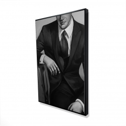 Framed 24 x 36 - 3D - Businessman