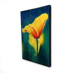 Framed 24 x 36 - 3D - Superb contrast flowers