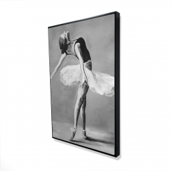 Framed 24 x 36 - 3D - Classic ballet dancer