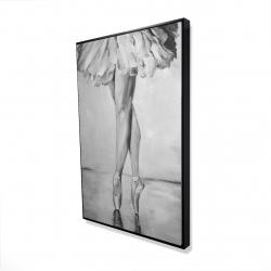 Framed 24 x 36 - 3D - Ballet classic steps