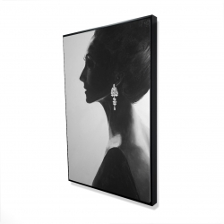 Framed 24 x 36 - 3D - Chic woman