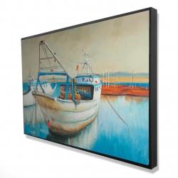 Framed 24 x 36 - 3D - Fishing boat