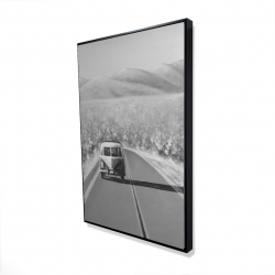 Framed 24 x 36 - 3D - Car on the road again