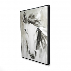 Framed 24 x 36 - 3D - Beautiful abstract horse