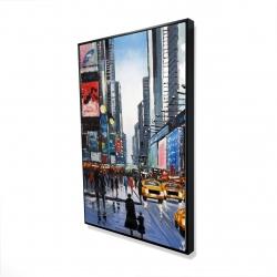 Framed 24 x 36 - 3D - Peak hour