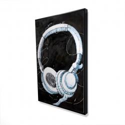 Encadré 24 x 36 - 3D - écouteur