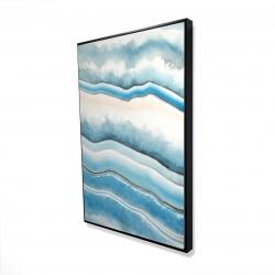 Framed 24 x 36 - 3D - Textured geode