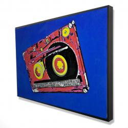 Framed 24 x 36 - 3D - Tape player