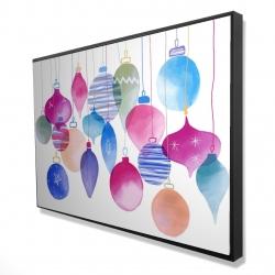 Framed 24 x 36 - 3D - Magic holidays