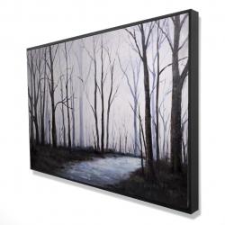 Framed 24 x 36 - 3D - Sad forest