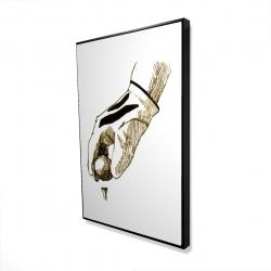 Framed 24 x 36 - 3D - Illustration of a golf glove