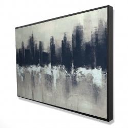 Framed 24 x 36 - 3D - Dark city