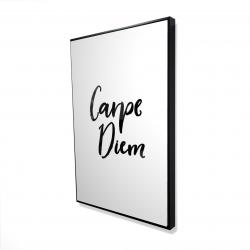 Framed 24 x 36 - 3D - Carpe diem