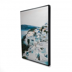 Framed 24 x 36 - 3D - Travel in greece