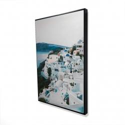 Framed 24 x 36 - 3D - Travel in greece