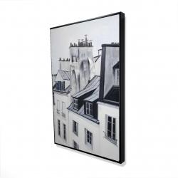 Framed 24 x 36 - 3D - Historical buildings