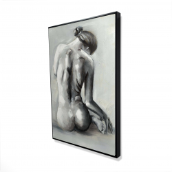 Framed 24 x 36 - 3D - Nude woman from behind