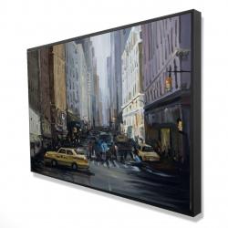Framed 24 x 36 - 3D - In the city
