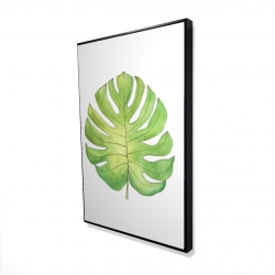 Framed 24 x 36 - 3D - Tropical leaf