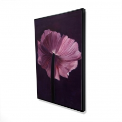 Framed 24 x 36 - 3D - Purple petals