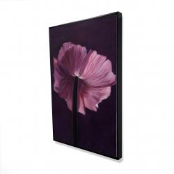 Framed 24 x 36 - 3D - Purple petals