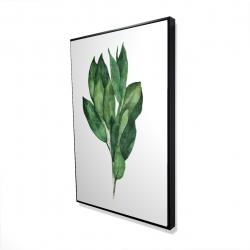 Framed 24 x 36 - 3D - Bay leaves bundle