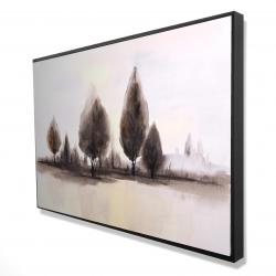 Framed 24 x 36 - 3D - Landscape of trees