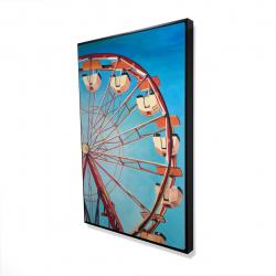 Framed 24 x 36 - 3D - Ferris wheel by a beautiful day