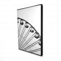 Framed 24 x 36 - 3D - Quarter of a ferris wheel