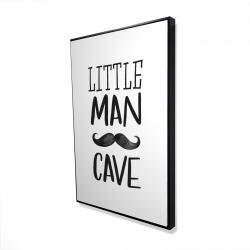 Framed 24 x 36 - 3D - Little man cave