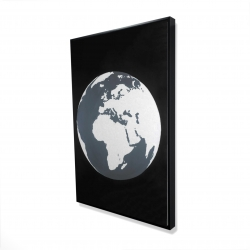 Framed 24 x 36 - 3D - Earth