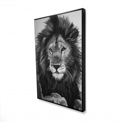 Framed 24 x 36 - 3D - The lion king