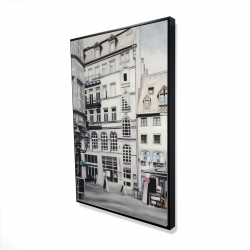 Framed 24 x 36 - 3D - Street scene in germany