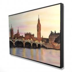 Framed 24 x 36 - 3D - Sunset on the big ben