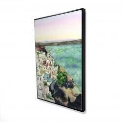 Framed 24 x 36 - 3D - Landscape of crete