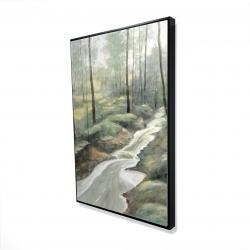 Framed 24 x 36 - 3D - Waterfall
