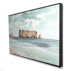 Framed 24 x 36 - 3D - Rocher percé