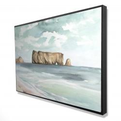 Framed 24 x 36 - 3D - Rocher percé