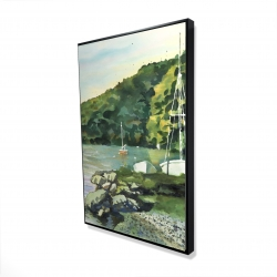 Framed 24 x 36 - 3D - Sailboat day